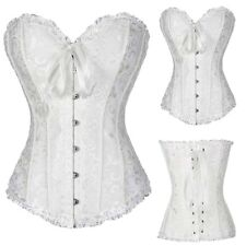 Corset Body Shaper Lace Up Bustiers Waist Trainer Overbust Slimming Cincher Hot