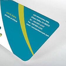 1000 Custom Round Corner Business Cards - Glossy