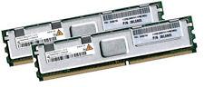 2x 2GB 4GB RAM IBM IntelliStation Z Pro 9228 667Mhz FBDIMM DDR2 FullyBuffered