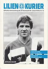 II. BL 91/92 SV Darmstadt 98 - Hallescher FC, März 1992