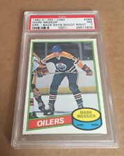 1980 OPC Mark Messier Error Rc Shoot Right Psa 8 NM-MT