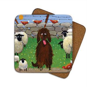 Thomas Joseph TJCOA117 Single Coaster Ewere a Big Softee Sheep