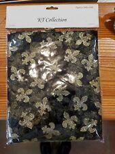 Fleur-de-lis tablecloth, Mardi Gras organza fleur de lis tablecloth,  Saints