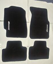 Fit 92-95 Honda Civic 2/3/4 Dr Black Floor Mats Carpet W/Emblem 1