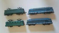 lot de 4 locomotive jouef bb9004 bb9201 2 x 67001