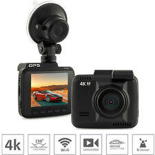 "2160P 4K Car DVR Camera 2.4"" Novatek 96660 Video Recorder WiFi GPS Dash Cam"