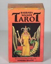 Vintage Rare Barbara Walker  78 card tarot deck  1986 Printed in Switzerland
