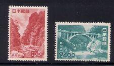 Japan 1951 Sc # 539-40 Park Mlh (49238)