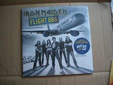 IRON MAIDEN - FLIGHT 666 - LIMITED EDITION 2XLP PICTURE DISC - NEW AND SEALED