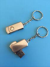 128GB USB 2.0 Flash Drive Memory Stick Silver Udisk fast post Great Quality