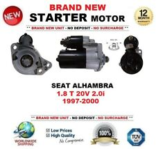 FOR SEAT ALHAMBRA 1.8 T 20V 2.0i 1997-2000 STARTER MOTOR 1.1kW 9-Teeth BRAND NEW