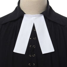 Plain Barrister Band Collar Barrister Gown Neckwear Court Band Tie Free Tying