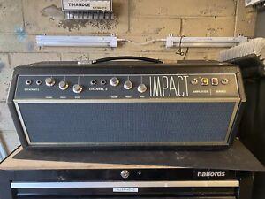 Vintage Valve Amplifier, Impact