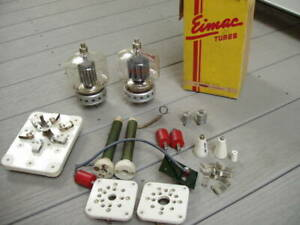 Eimac 4-400A tubes and Amplifier parts...