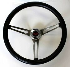 "Chevrolet Pick Up Truck Blazer Grant Black Steering Wheel 15"" red/black cap"