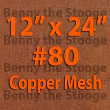 "12""x24"" 100% Copper 80 Mesh / 200 Micron Kief / Pollen / Dry Sift Screen"