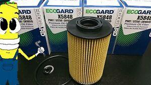 Premium Oil Filter for Hyundai Azera 3.3L 3.8L 2009-2011 Pack of 4