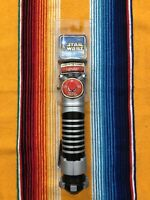 2002 Star Wars Attack Of The Clones Light Saber (purple) New In Package