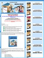 Listenaufbau MEGA PACK - 8 eBooks mit 8 eigenen Verkaufsseiten - PLR Lizenz