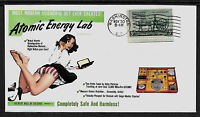 1950s Gilbert Atomic Energy Lab Ad Featured on Collector's Envelope *A530
