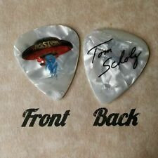 BOSTON band SCHOLZ signature guitar pick -novelty  (w-2163)