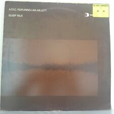 "A.T.F.C. Featuring Lisa Millett – Sleep Talk (Vinyl 12"", Maxi 33 Tours)"
