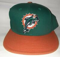 Miami Dolphins Snap  back Cap Hat YOUTH Vintage 90's NFL Team Apparel