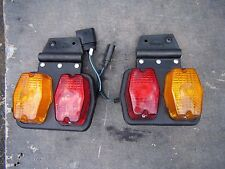 Genuine VW Volkswagen Transporter Crafter Ute tray truck tail light rear pair