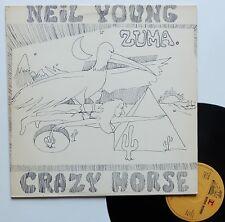 "LP Neil Young  ""Zuma"" - (EX/TB)"