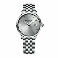 Raymond Weil Toccata Quartz Watch Grey 39 Mm Day Small Second 5484-st-65001