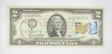 First Day Issue 1976 $2.00 Federal Reserve Note - Stamped! *994
