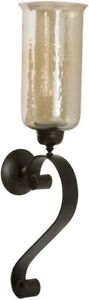 Uttermost 19150 Joselyn - 30 inch Candle Wall Sconce  Antiqued Bronze Finish