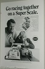 1973 Cox advert, Cox Slot Car Racing sets 1:43 scale