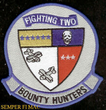 VF-2 BOUNTY HUNTERS FIGHTING 2 PATCH US NAVY PIN UP USS FA/18 F-14 F4 CVW2 GIFT