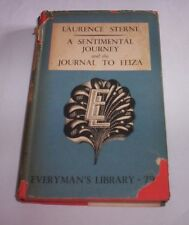A SENTIMENTAL JOURNEY - JOURNAL TO ELIZA Laurence Sterne 1951 libro in english
