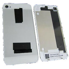 Back Door Battery Cover Glass Plate iPhone 5 Design For iPhone 4 4G Sliver/White