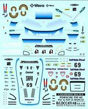 Colorado Decals 1/43 PORSCHE 935 K3 #61 & #69 Le Mans 1981