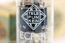 TELEFUNKEN ECF80 6BL8 SINGLE (1) TUBE for McIntosh MR67 MR65B MR71 Scott 333 355