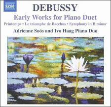 Debussy: Early Works for Piano Duet, New Music