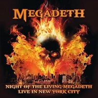 MEGADETH - NIGHT OF THE LIVING MEGADETH: LIVE IN NEW YORK CITY   CD NEU