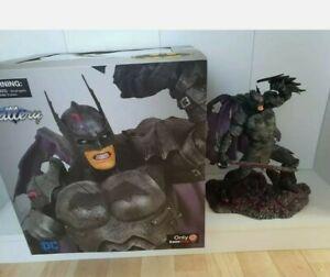 DC Comics Batman Armored Edition Statue Gallery Gamestop Exclusive