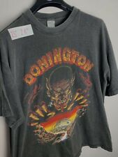 Vintage 1996 Donnington Kiss Ozzy Osbourne Tour T Shirt Rare Original Tee Xl