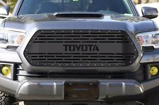 Custom Steel Aftermarket Grille 2016-2017 TOYOTA Tacoma TRD Pro Grill Part Black
