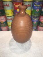Nice vintage modern 1960s studio ceramic art Pottery Vase signed by Blouch 1963