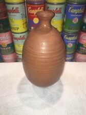 Nice vintage modern 1960s studio ceramic art Pottery Vase signed by Blouch 1963