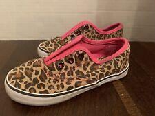 Girls Cheetah Austin Pink Slip On Shoes Tennis Shoes Sneakers Sz 9