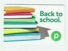 PUBLIX Gift Card - Back to School - Books - Grocery Food - No Value