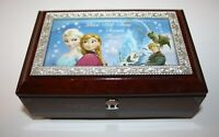 Bradford Exchange Disney Frozen Musical Jewelry Box Plays Let It Go
