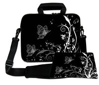 LUXBURG 17,3 Inch Design Laptop Notebook Shoulder Bag with Matching Mousepad #EQ