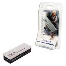 Lector tarjeta Ext Logilink mini All-in-1 Cr0010